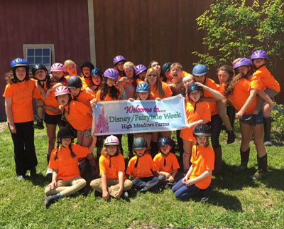 New Hampshire Summer Day Camp Horseback Riding